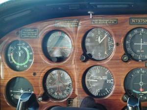 Airplane Instrument Panel Alaska